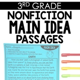 Nonfiction Main Idea 3rd Grade Reading Toothy®