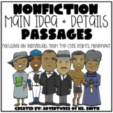 Nonfiction Main Idea + Detail Passages - RI 5.2 (Digital v