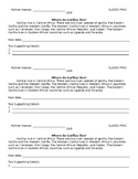 Nonfiction Main Idea Practice