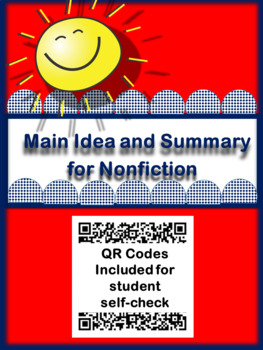 Nonfiction Main Idea and Summary