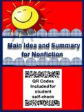 Nonfiction Main Idea and Summary