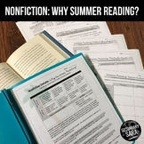 Nonfiction Mini-Unit: Why Summer Reading?