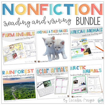 Nonfiction Reading - Close Reading and Writing Bundle- A GROWING Product