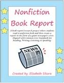 Nonfiction Newspaper Book Report