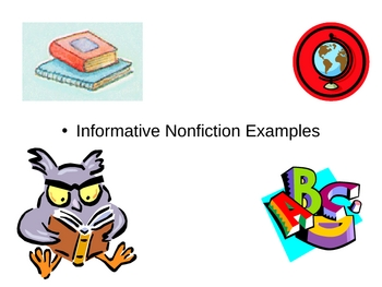 Nonfiction Notes on Powerpoint