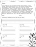 Nonfiction Notetaking Organizer for Guided Reading