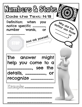 Nonfiction Notice & Note Signposts Doodle Notes