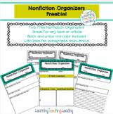 Nonfiction Organizers