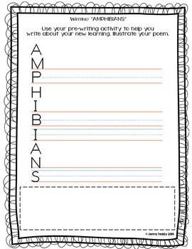 Nonfiction Packet - Scholastic's True or False Book #12: AMPHIBIANS