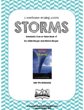 Nonfiction Packet - Scholastic's True or False Book #7: STORMS