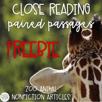 Nonfiction Paired Passages FREEBIE