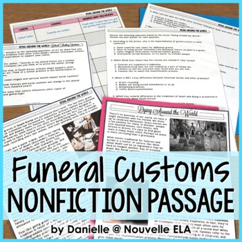 Nonfiction Passage - Dying Around the World - Informational Text