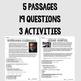 Nonfiction Passages: Famous Americans