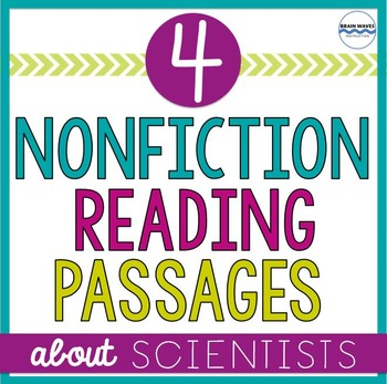 Famous Scientists Nonfiction Mini-Lesson and Passages:  4 Informational Texts