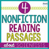 Famous Scientists Nonfiction Mini-Lesson and Passages:  4