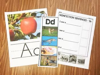 Nonfiction Picture Printables & Activities
