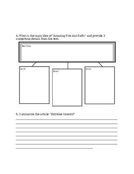 Nonfiction Post Assessment