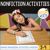Nonfiction Graphic Organizers, Posters, Worksheets and more!