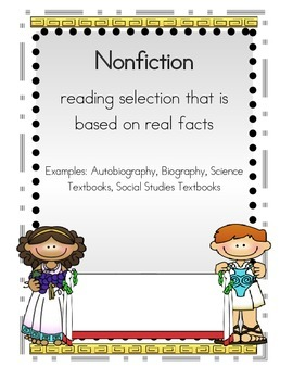 Nonfiction Posters and Interactive Notebooks