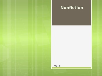 Nonfiction Powerpoint Presentation
