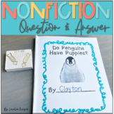 Nonfiction Question Answer Writing Unit