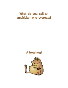 Nonfiction Read Alouds and Extensions: Frogs