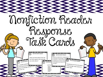 Nonfiction Reader Response Task Cards