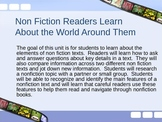 Nonfiction Readers Learn About the World Powerpoint