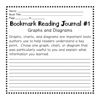 Nonfiction Reading Bookmarks with Writing Prompts