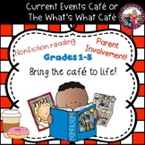 Nonfiction Reading!  Cafe Style!