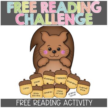 FREE Nonfiction Reading Challenge