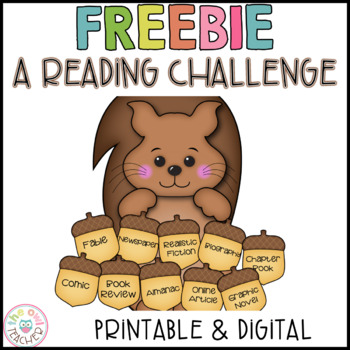 FREE Nonfiction Reading Challenge