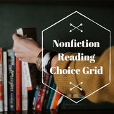 Nonfiction Reading Choice Grid