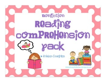 Nonfiction Reading Comprehension Pack: Reading is Thinking!