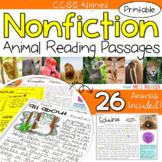 Nonfiction Reading Comprehension Passages & Questions - An