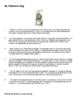 Nonfiction Reading Comprehension Passage With Questions- 520L