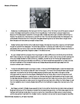 Nonfiction Reading Comprehension Passage With Questions- 820L