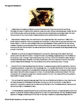 Nonfiction Reading Comprehension Passage With Questions- 840L
