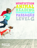 Nonfiction Reading Comprehension Passages: Guided Reading Level G