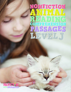 Nonfiction Reading Comprehension Passages: Guided Reading Level J