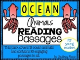 Ocean Animals Nonfiction Reading Comprehension Passages
