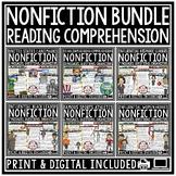 Digital Nonfiction Reading Comprehension Passages & Questi