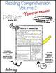 Nonfiction Reading Comprehension Passages Volume 2