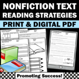 Nonfiction Reading Response Sheets, HOT Higher Order Thinking Skills