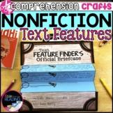Nonfiction Reading Crafts: Nonfiction Text Features Scavenger Hunt & Activities