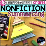 Nonfiction Reading Crafts Set 2: Nonfiction Summarizing Activities