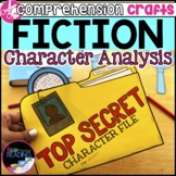 Fiction Reading Crafts Set 1: Analyzing a Character Activities, Character Traits