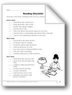 Nonfiction Reading, Gr. 4: Checklist & Graphic Organizers