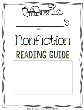 Nonfiction Reading Guide {Student Made Book on Nonfiction Features and Skills}