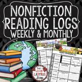 Nonfiction Reading Logs-  3rd Grade, 4th Grade